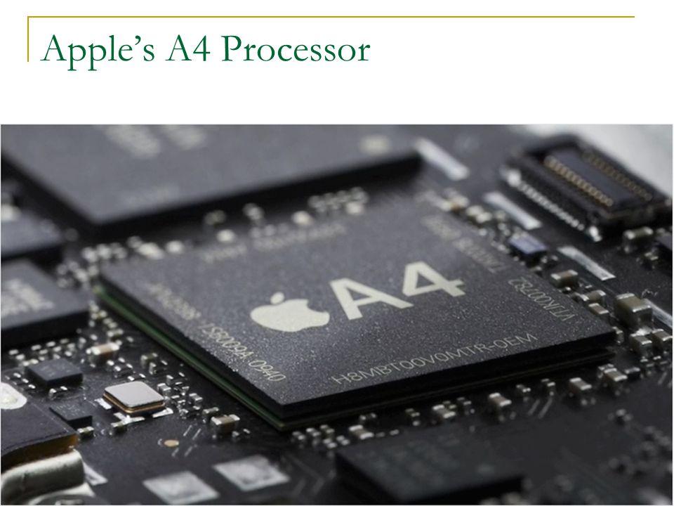 Apple's A4 Processor