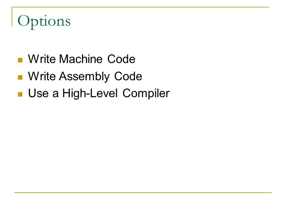 Writing Machine Code ENIAC