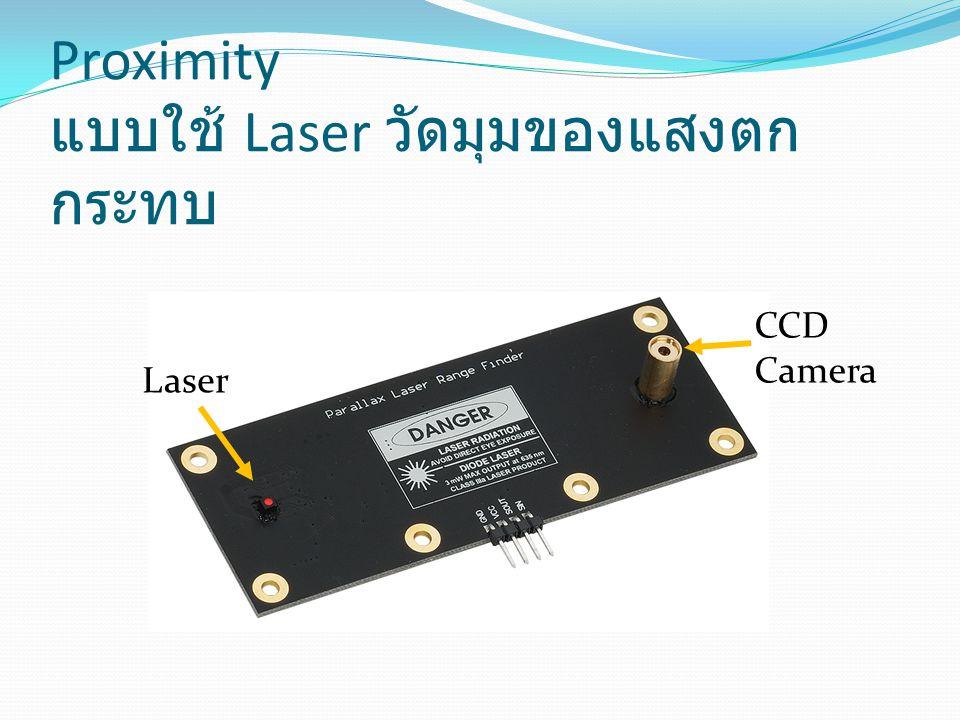 Proximity แบบใช้ Laser วัดมุมของแสงตก กระทบ Laser CCD Camera