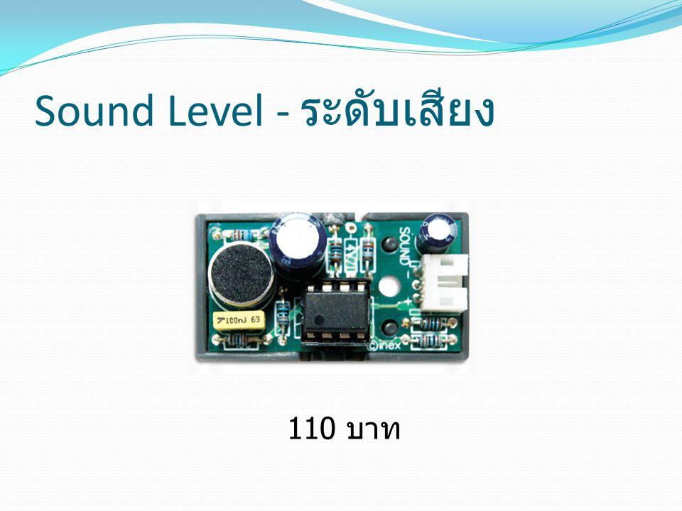 Sound Level - ระดับเสียง 110 บาท