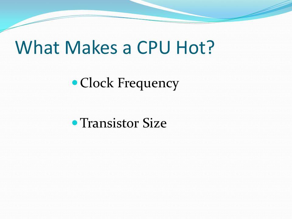 Why more transistors? PentiumCore i7