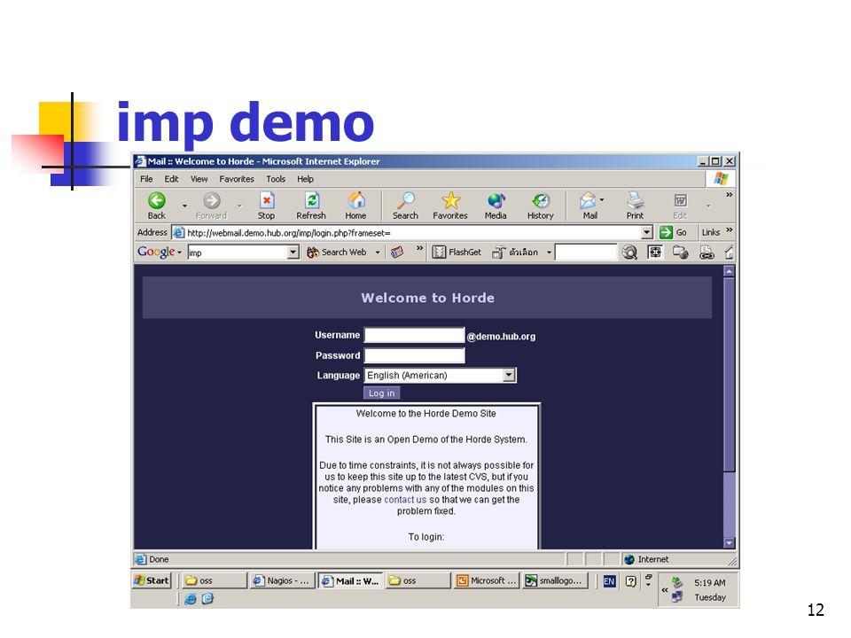 12 imp demo