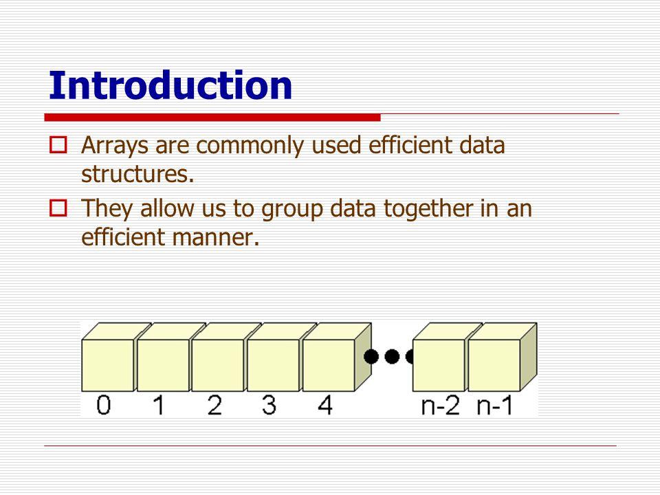 ตัวอย่าง : หาค่า maximum  Given an array of 10 numbers, how do we find the maximum .