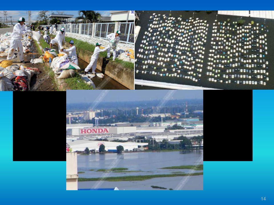 นิคมอุตสาหกรรม โรจนะ อยุธยา 14 น้ำท่วม Handa อยุธยา