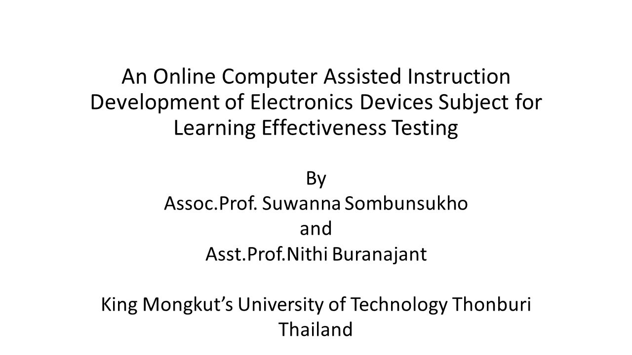 Research Methodology (cont.) A B C D A2 A3 A1 B1B2 B3 B4 C1C2C3 D1 D2 D3 D4 Test To example content network chart