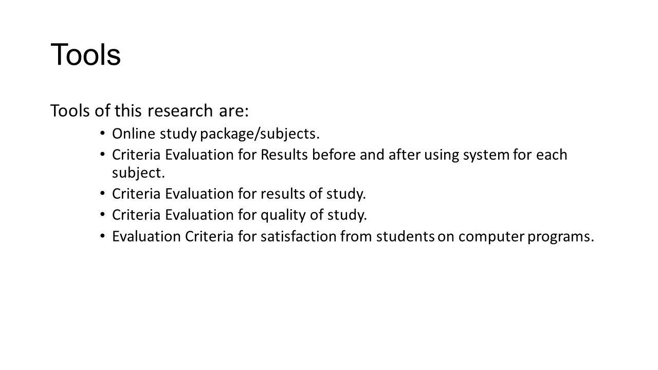 Research Methodology (cont.) 3.Development - Script - Storyboard - Examination / Quiz To example script