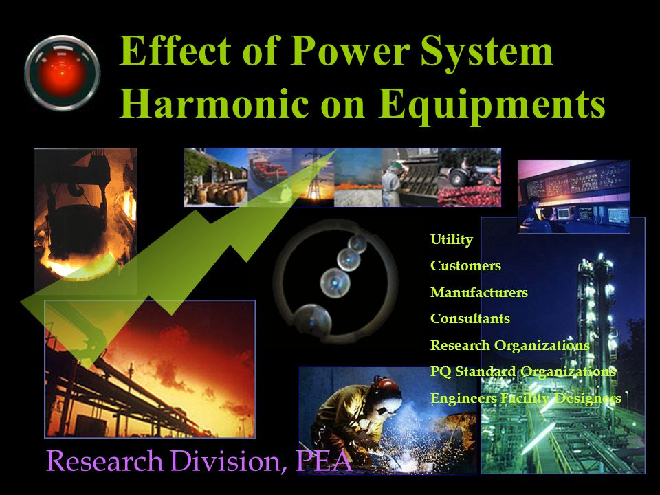 Harmonic Sources Arc Furnaces Spot Welding DC & AC Drive Transformer SMPS Electronic 6k+1 12k+1