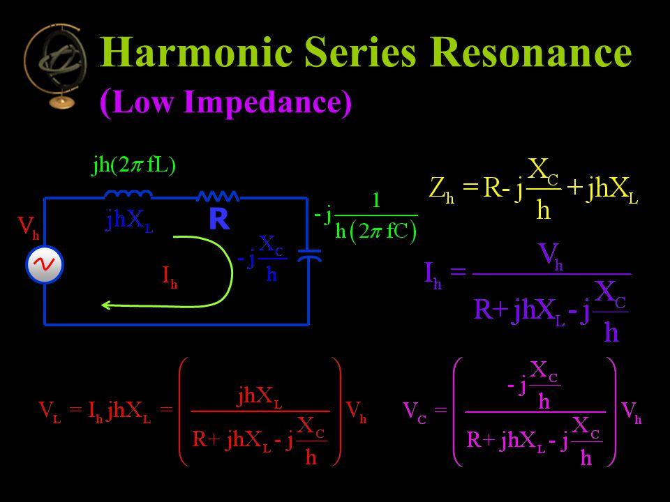 R Harmonic Series Resonance ( Low Impedance)