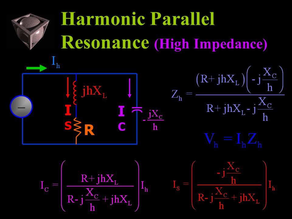 Harmonic Parallel Resonance (High Impedance) ICIC ISIS R