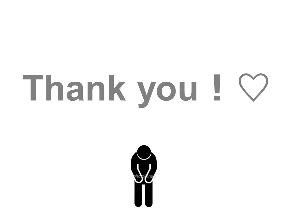 Thank you ! ♡