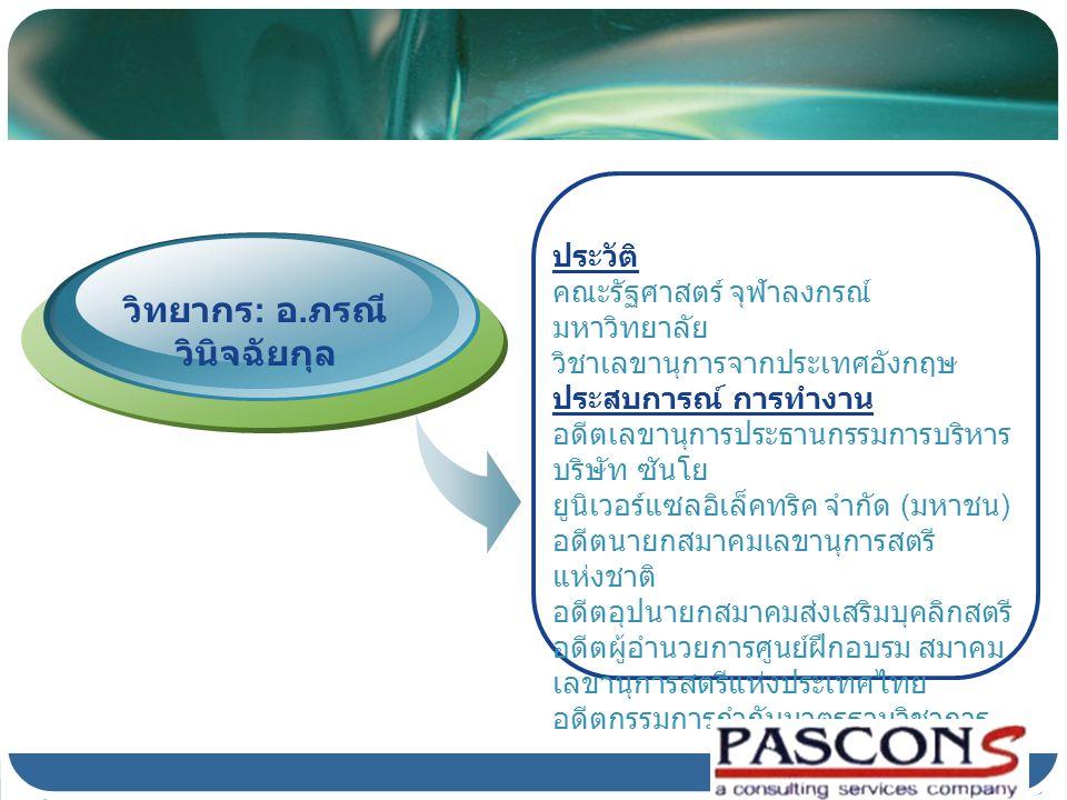 Company Logo วันที่จัดอบรม 27 สิงหาคม 2551 เวลา 9:00-16.00 น.