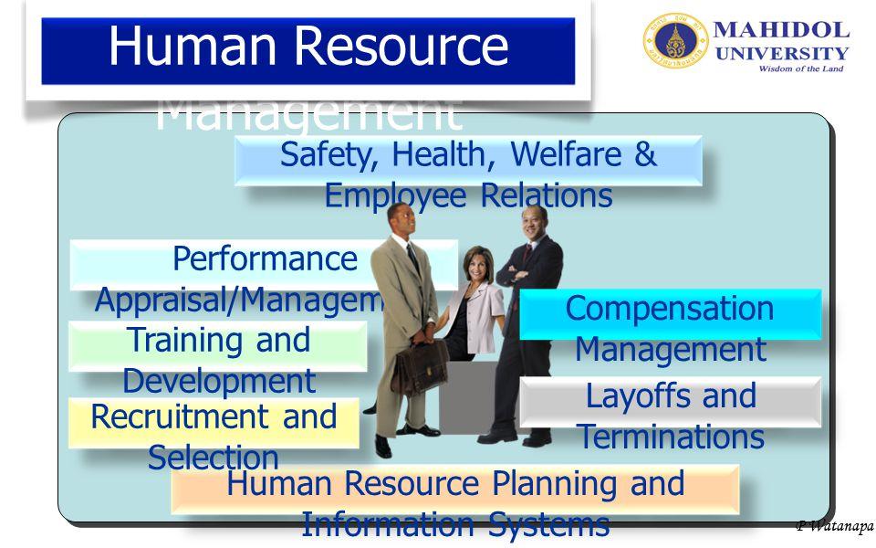 P Watanapa Internal vs External Recruitment Internal Recruitment AdvantagesDisadvantages 1.