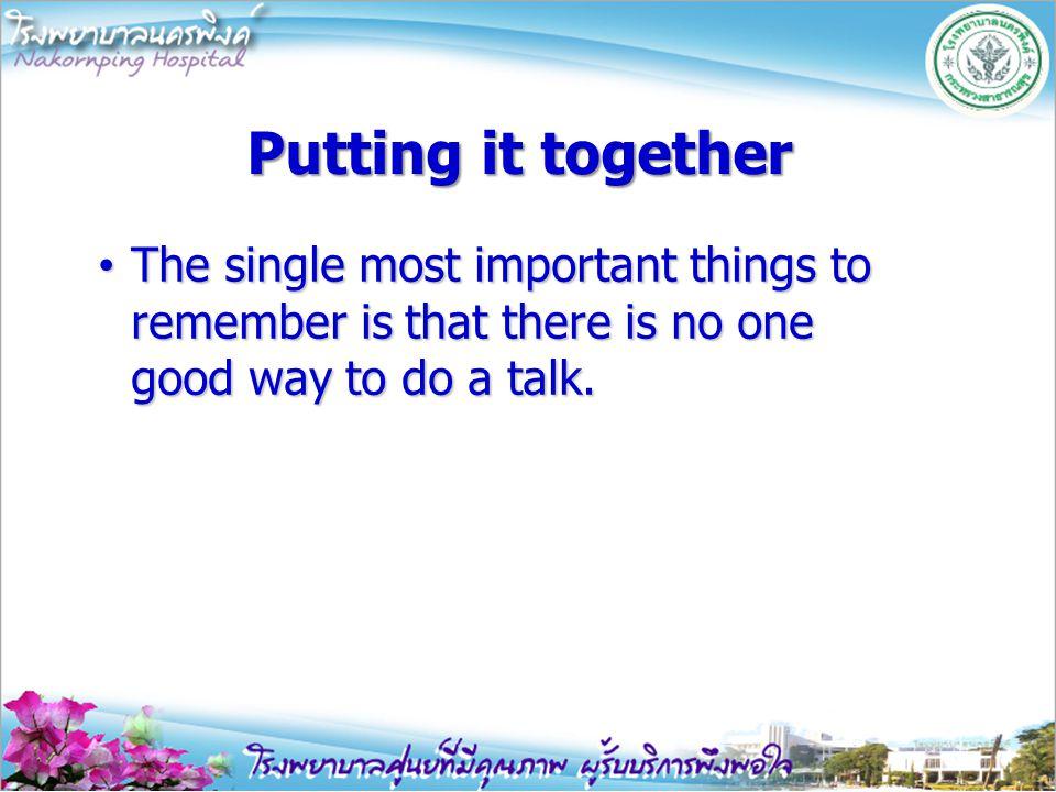 Plan the multimedia Keep it simple Keep it simple