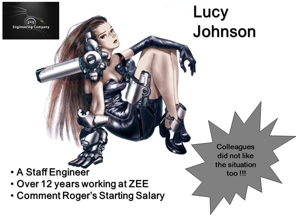 A New Engineer A New Engineer Right out from College Right out from College No Experience No Experience Starting Salary at $35,000.