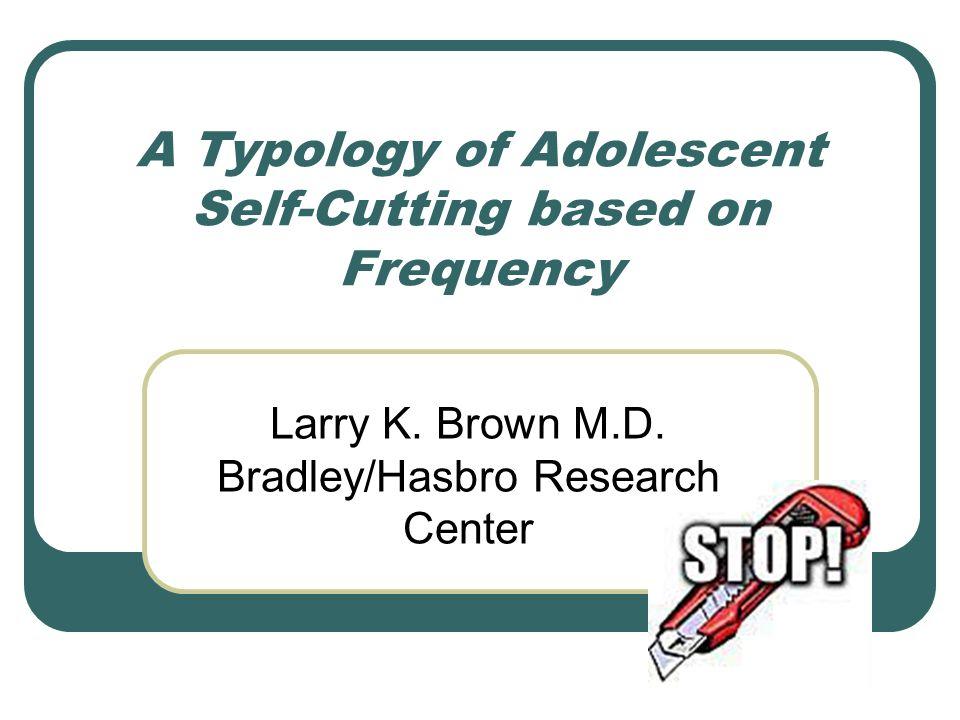 Prevalence of self-cutters Adolescents: in community 15 % in psychiatric treatment 50 % ศึกษาในเด็ก : 50% กรีด แขนอย่างน้อย 1 ครั้ง 30 % กรีดแขน มากกว่า 4 ครั้ง F > M