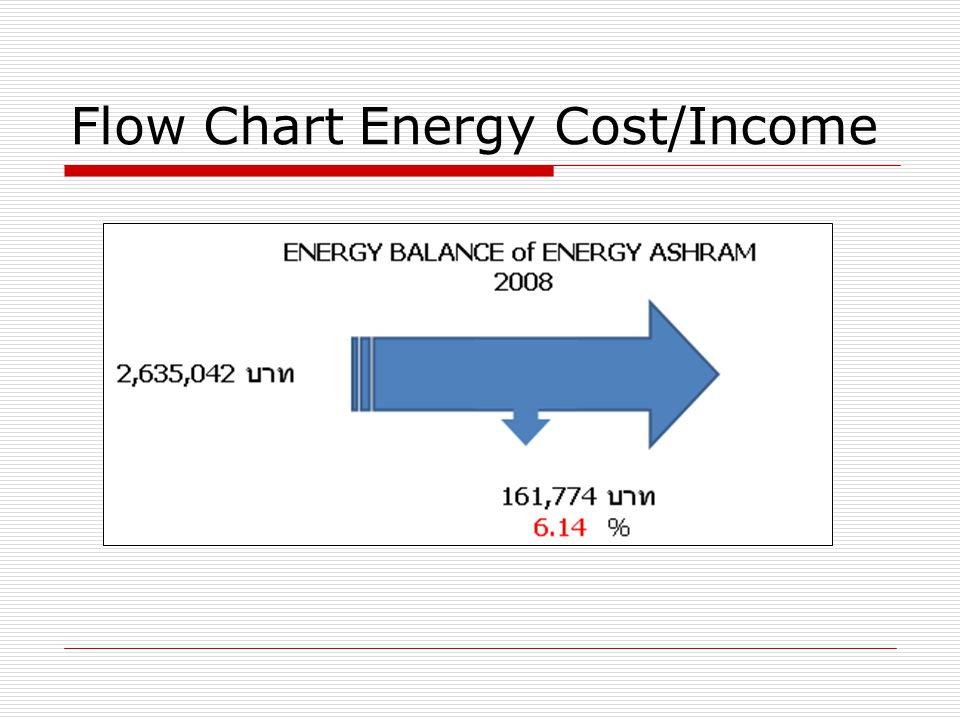 Flow Chart Energy Cost/Income