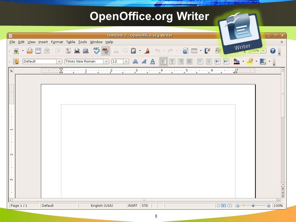 OpenOffice.org Writer 8