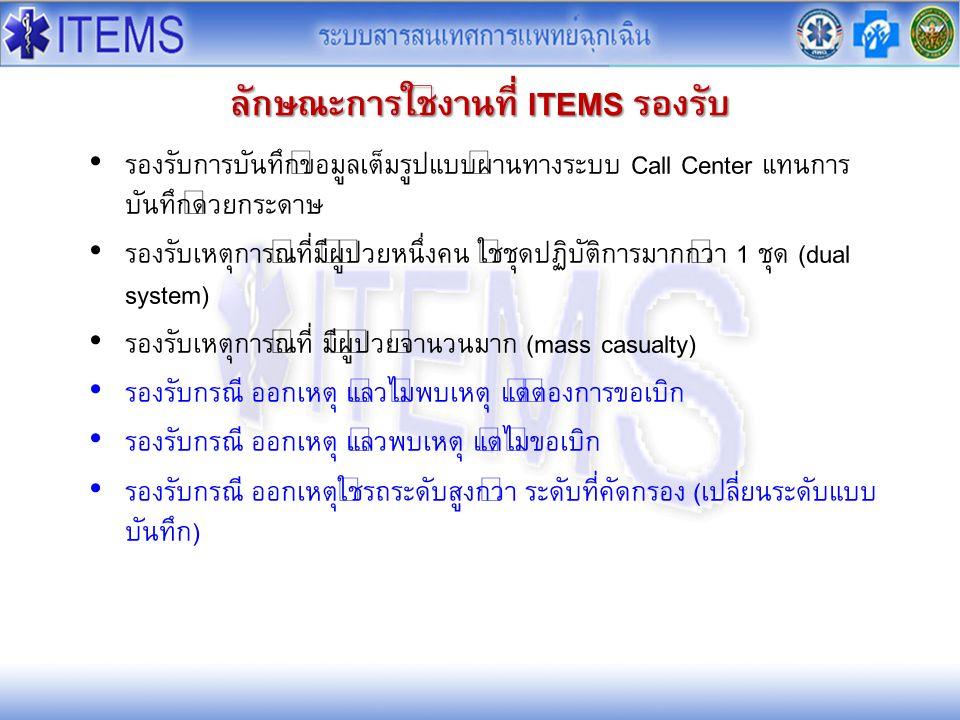 องค์ประกอบของระบบ ITEMS 4