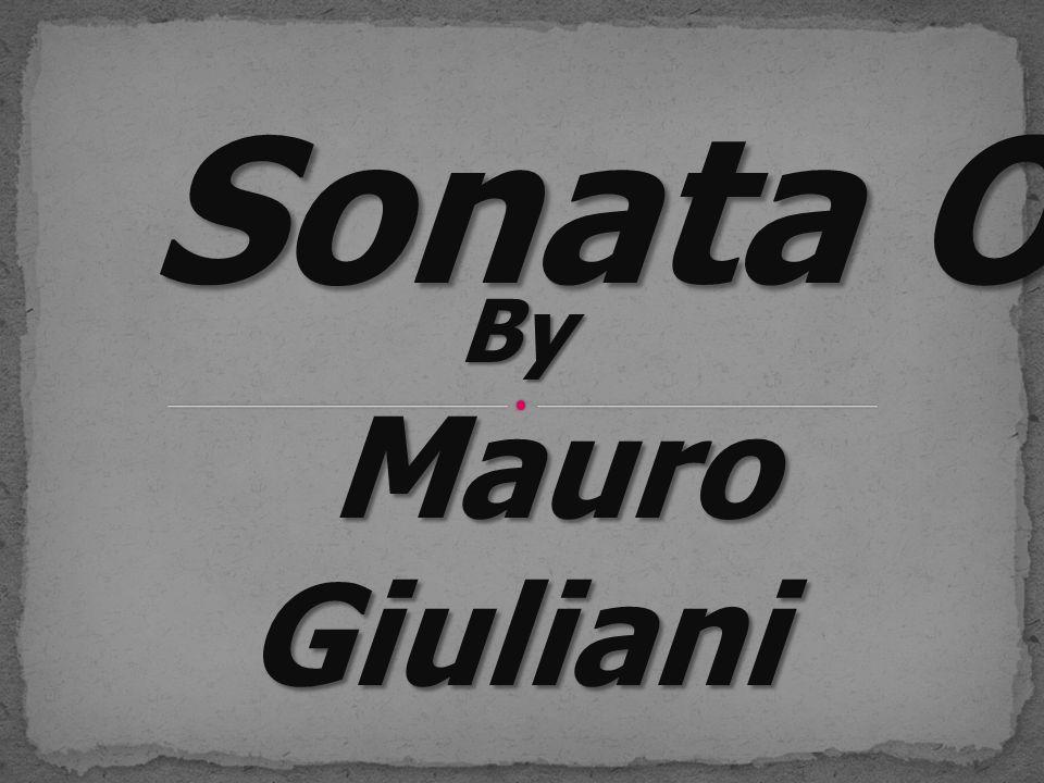 Sonata Op.15 By Mauro Giuliani Mauro Giuliani