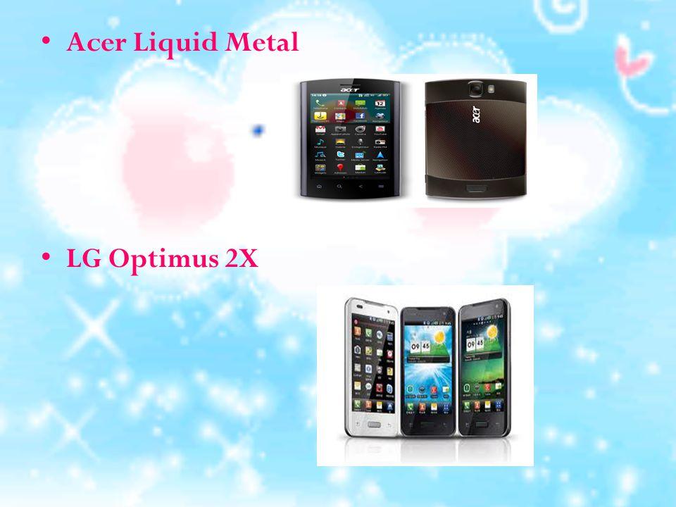 ตัวอย่างโทรศัพท์มือถือที่ใช้ Android OS HTC Incredible S