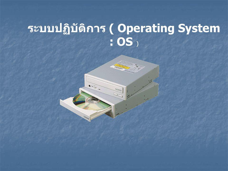 ซอฟต์แวร์ (software) หมายถึง ชุดคำสั่งหรือโปรแกรมที่ใช้สั่งงานให้ คอมพิวเตอร์ทำงาน