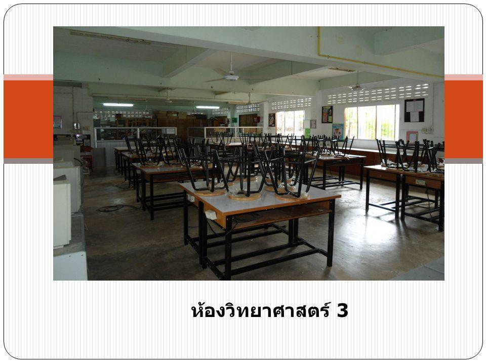 ห้องวิทยาศาสตร์ 3