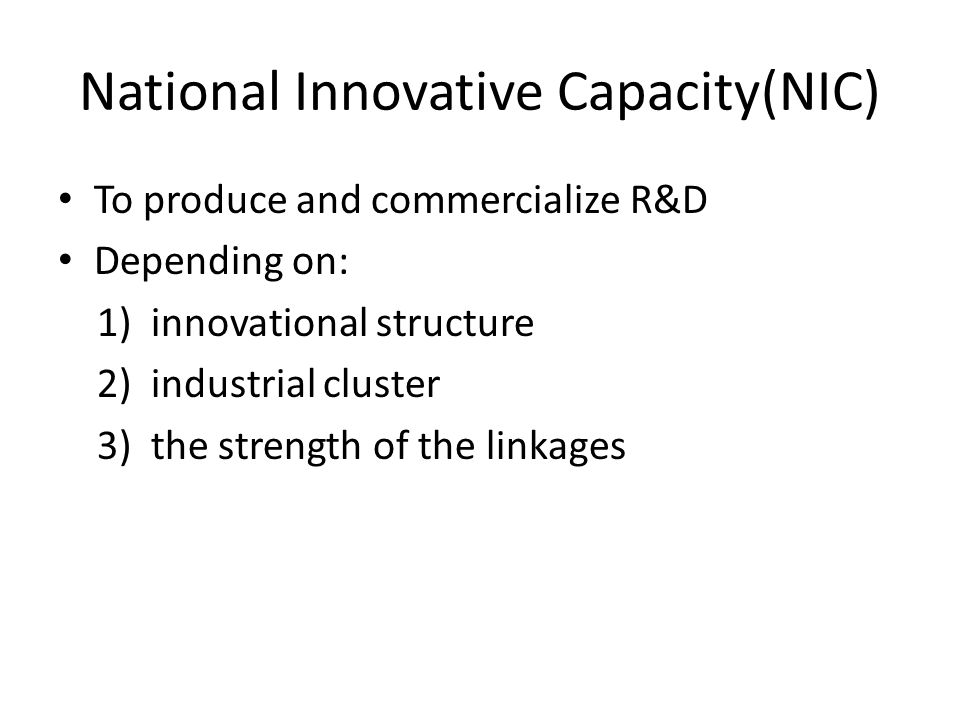 Sweden's model Swedish R&D policy 1997-1999 University & industries collaboration Patenting and commercialization of research The Swedish National Board for Industrial and Technical Development, Qualified industrial scientific research activities, Establish a state-of-the-art of Swedish scientific research.(Swedish publication in SCI 8,760(1986) 11,002(1994)