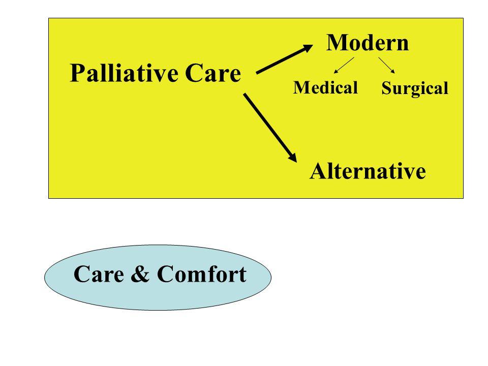 Palliative Care Modern Alternative Medical Surgical Care & Comfort