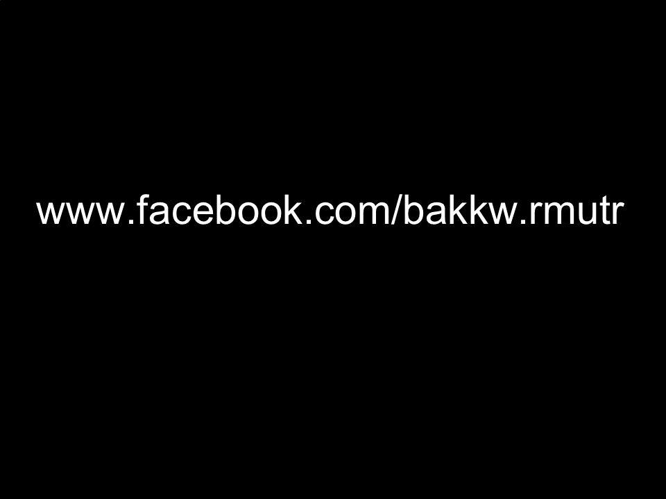 www.facebook.com/bakkw.rmutr