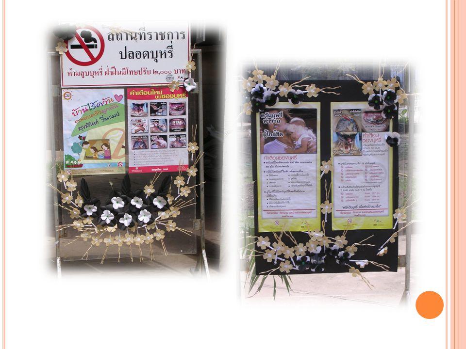 การสร้างเครือข่ายการดำเนินงาน โรงพยาบาลอินทร์บุรี โรงพยาบาลส่งเสริมสุขภาพตำบล สถานีตำรวจ โรงเรียน อาสาสมัครสาธารณสุขประจำหมู่บ้าน