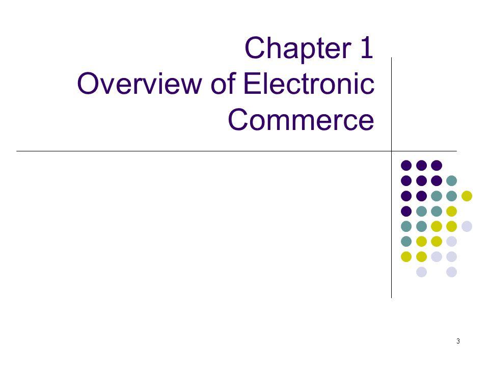4 Learning Objectives 1.นิยามความหมายและประเภทของ electronic commerce (EC) 2.