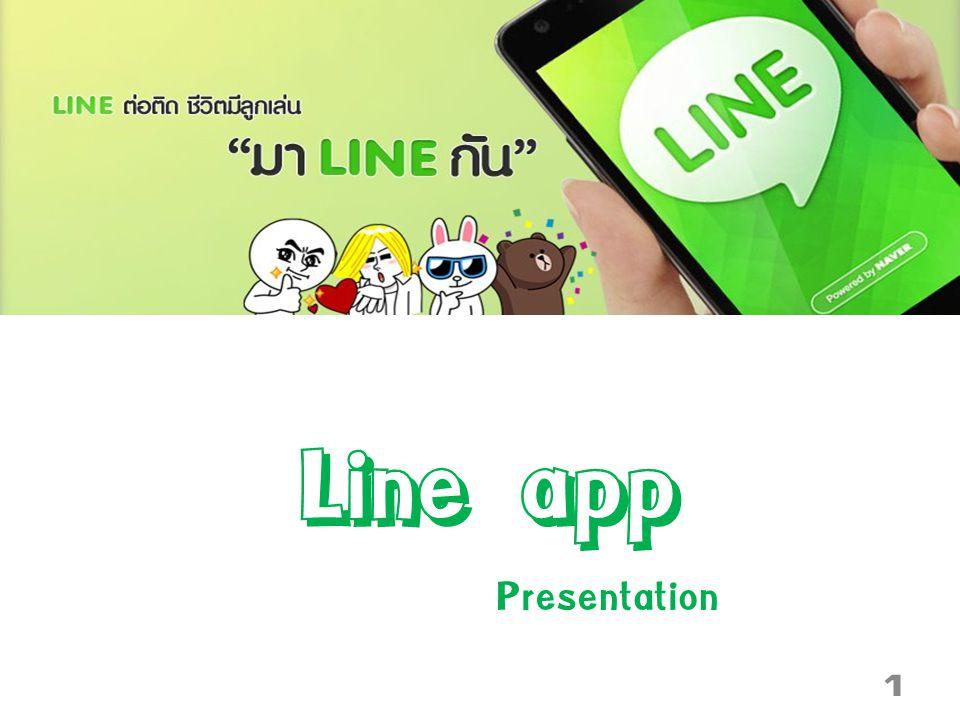 Line app Presentation 1