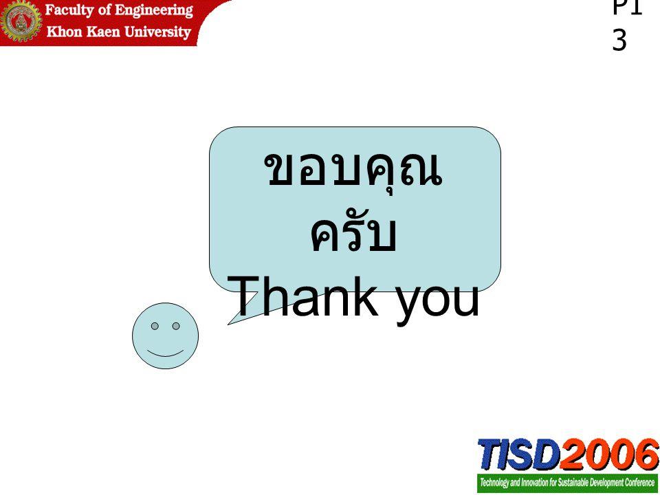 ขอบคุณ ครับ Thank you P1 3