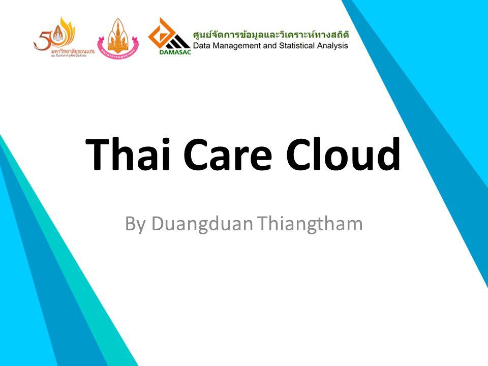 Thai Care Cloud By Duangduan Thiangtham