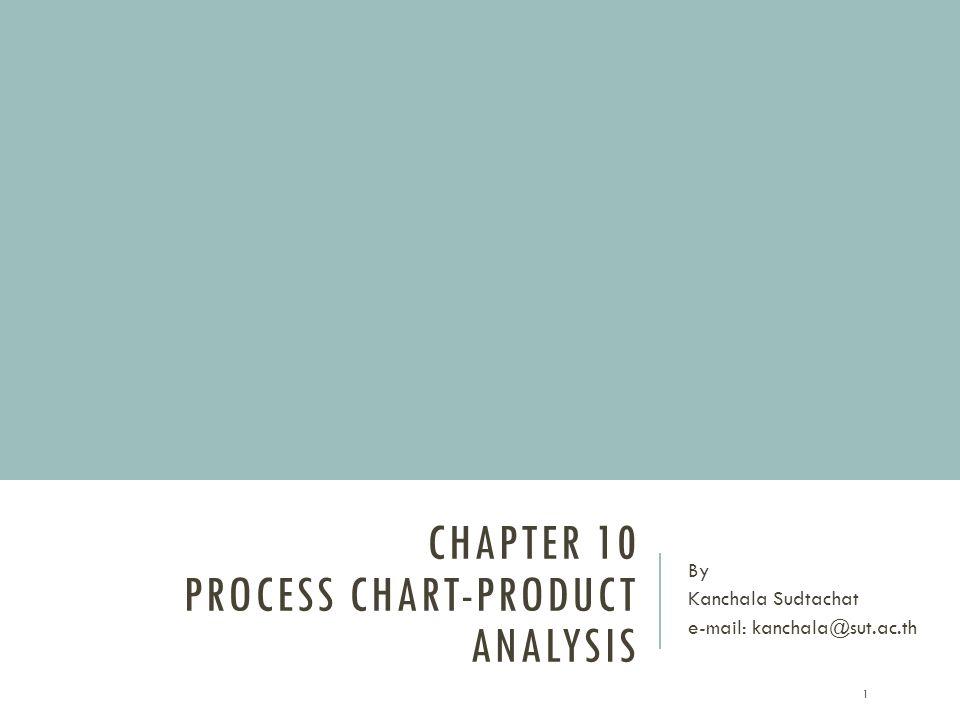PROCESS CHART-PRODUCT ANALYSIS 1.Process chart 2.Flow Diagram 3.Flow process chart 2