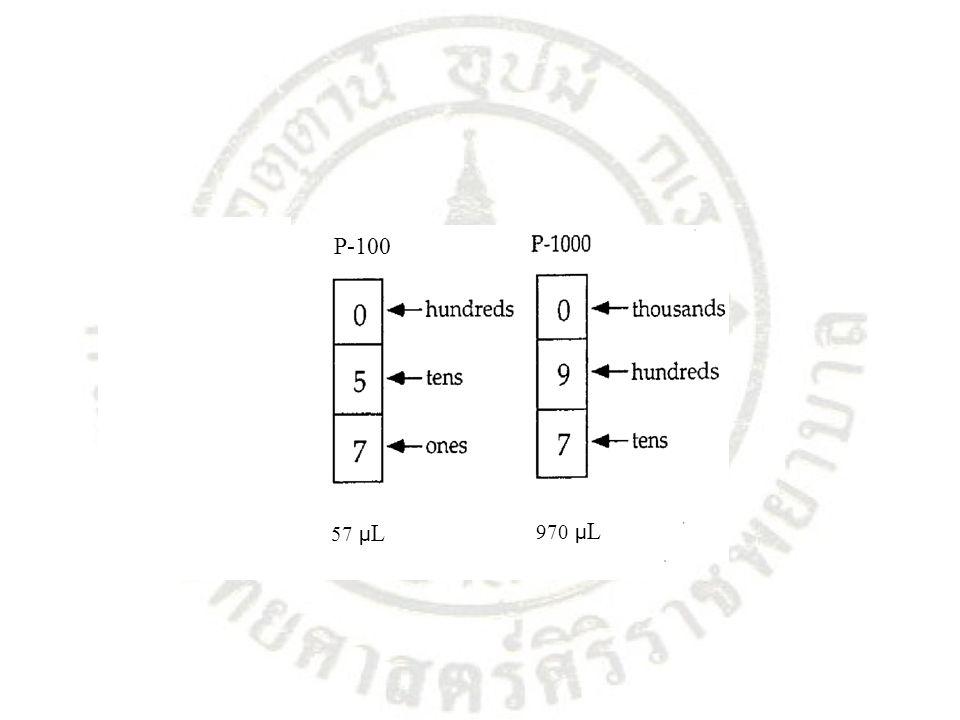 P-100 57 µ L 970 µ L