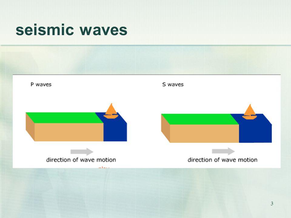 3 seismic waves