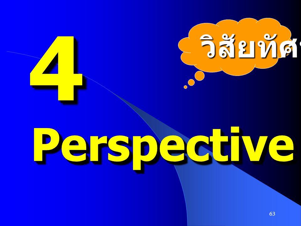63 44 PerspectivePerspective วิสัยทัศน์