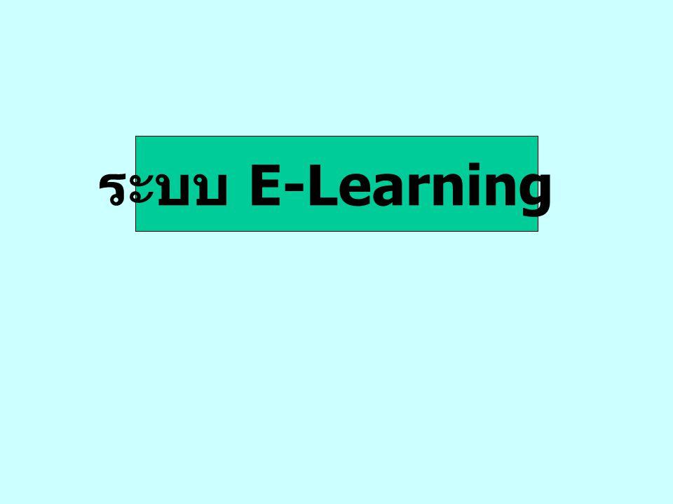 ระบบ E-Learning