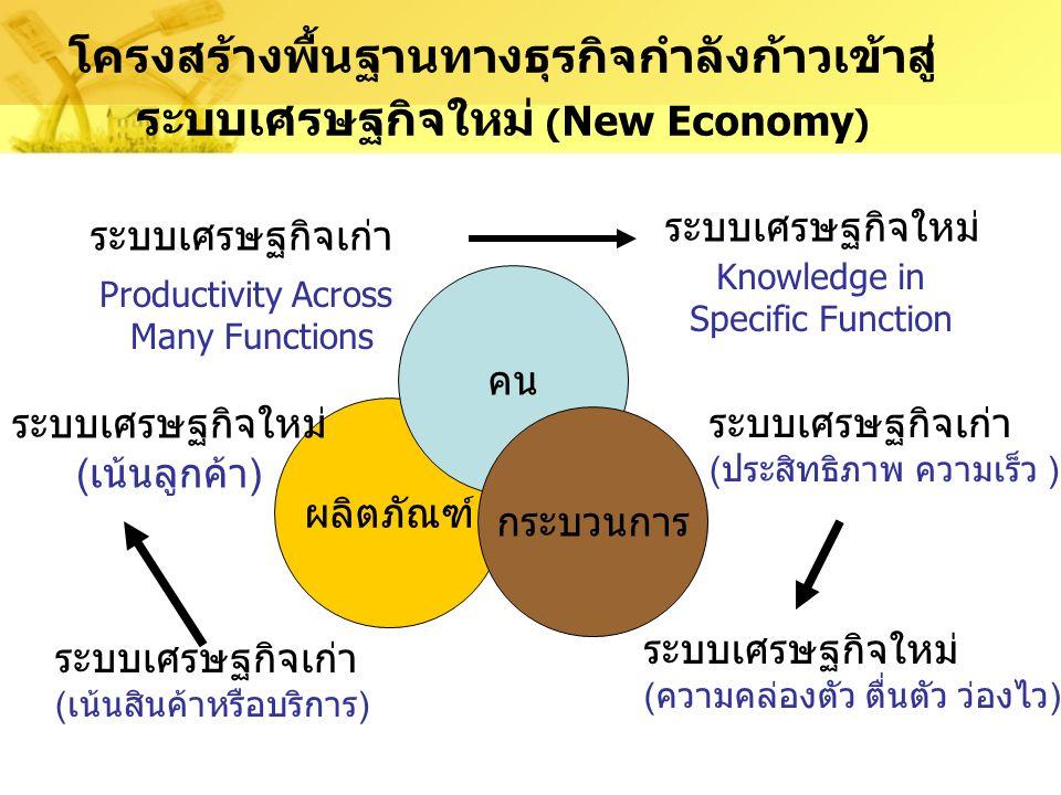 การสร้างสหกิจภายในองค์กรและระหว่างองค์กร การทำงานร่วมระหว่าง Enterprise, manufactures, vendors, suppliers, services etc… เพื่อสร้างเครือข่ายธุรกิจ และ