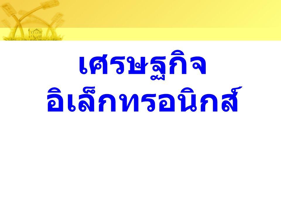 โอกาสประเทศไทยกับการใช้ความรู้ใหม่สร้าง ธุรกิจ กรอบความคิดใหม่ทาง การศึกษา กรอบความคิดใหม่ทาง ไอซีที การผสมผสานการศึกษา กับการใช้ไอซีทีเป็น เครื่องมือ