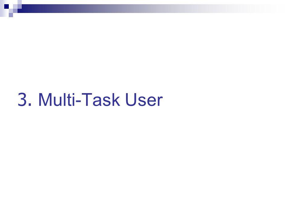 3. Multi-Task User