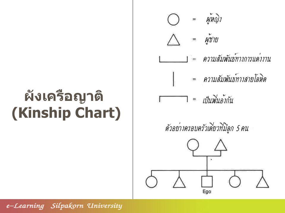 ผังเครือญาติ (Kinship Chart)