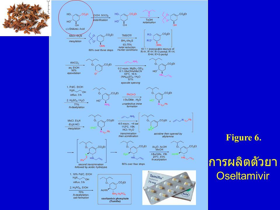 การผลิตตัวยา Oseltamivir Figure 6.