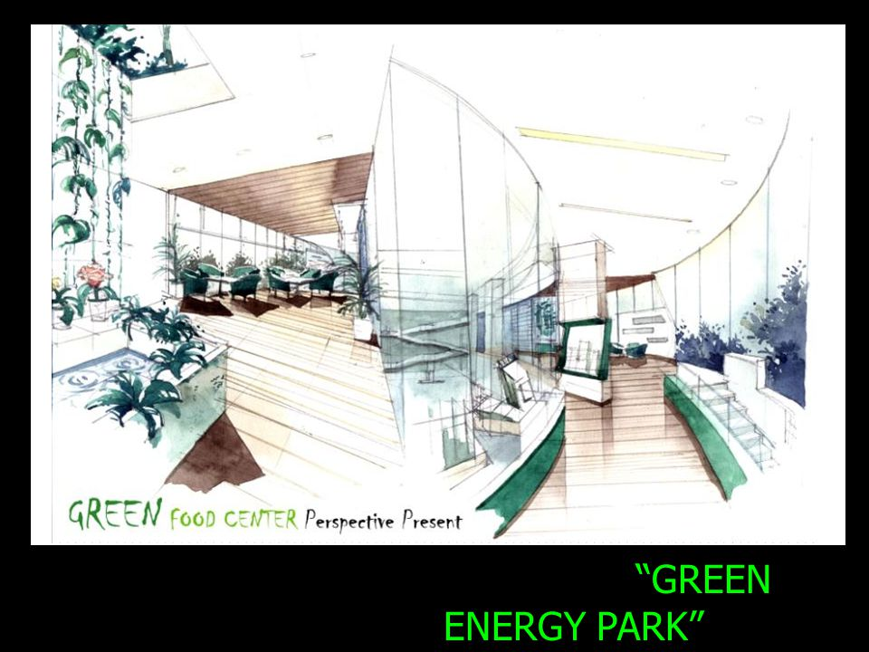 GREEN ENERGY PARK Energy station Project