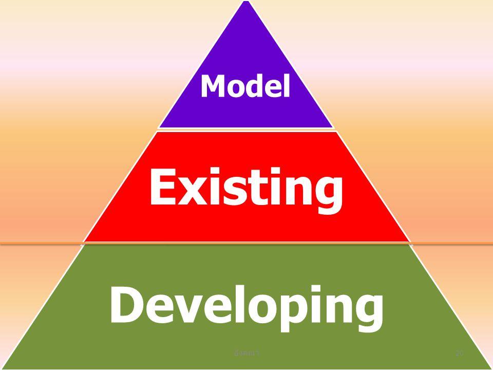 Existing Developing อังคณา 20