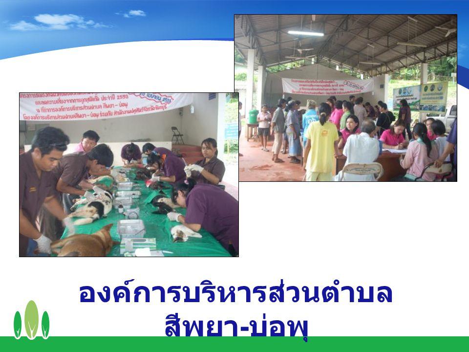 องค์การบริหารส่วนตำบล สีพยา - บ่อพุ