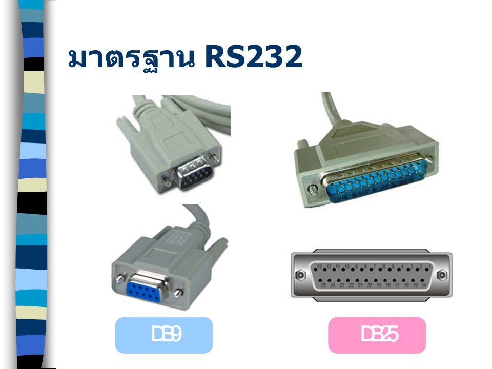 มาตรฐาน RS449 INTERFACE EIA RS-449 โดยใช้ Connector ชนิด d-type 37 pins ( DB-37 )
