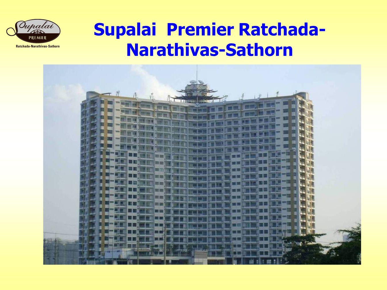 Supalai Premier Ratchada- Narathivas-Sathorn