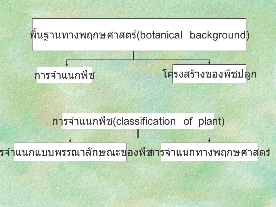 ศักยภาพในการผลิตพืช พืชปลูกสภาพแวดล้อม ความสามารถในการ ปรับตัวของพืช พันธุกรรมความสมบูรณ์ของดิน สรีรวิทยาของพืชความเหมาะสม ของภูมิอากาศ การระบาดของโรคและ แมลง การเขตกรรมและการ จัดการที่ถูกวิธี